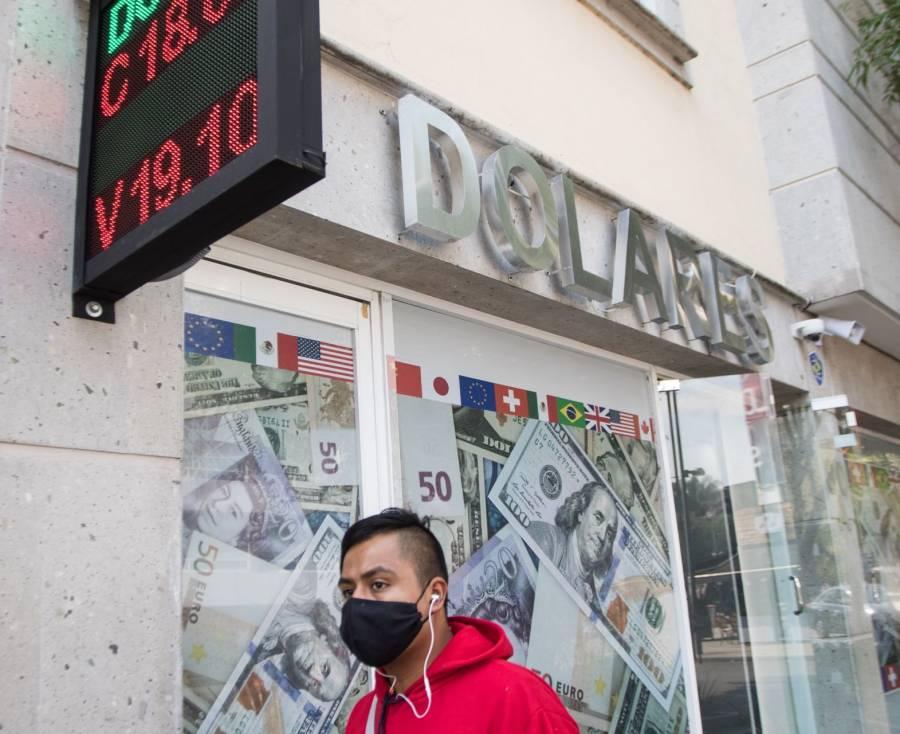 Peso recupera terreno ante  expectativa de estímulos en EU