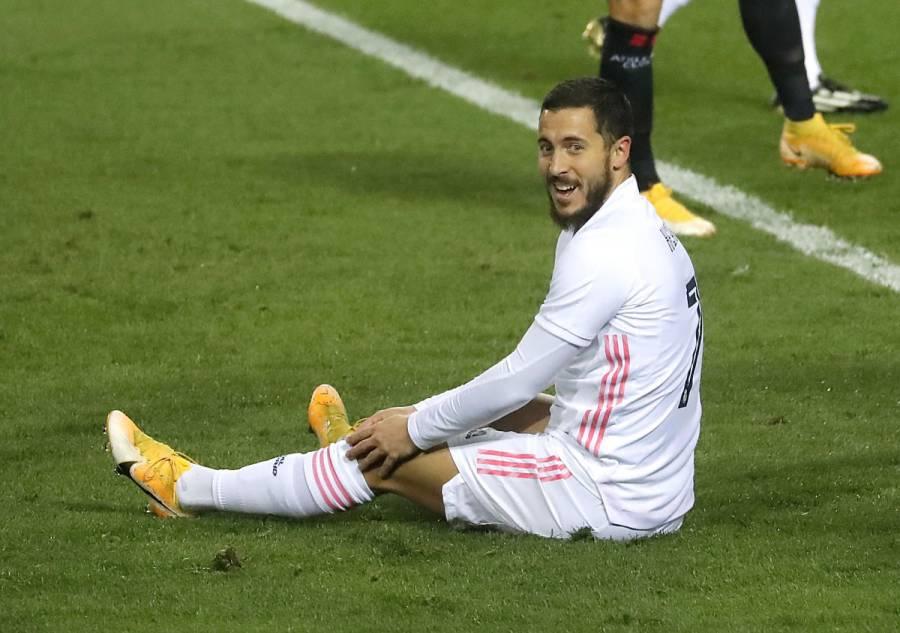 Eden Hazard sufre una nueva lesión y será baja por un mes con el Real Madrid
