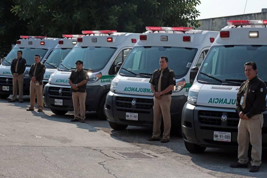 IMSS contrata 816 ambulancias para traslado