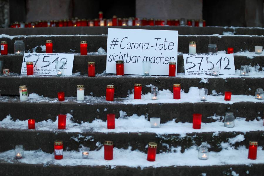 El mundo rebasa los 2.25  millones de muertos por Covid