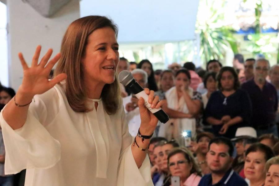 Margarita Zavala va con el PAN por una diputación federal