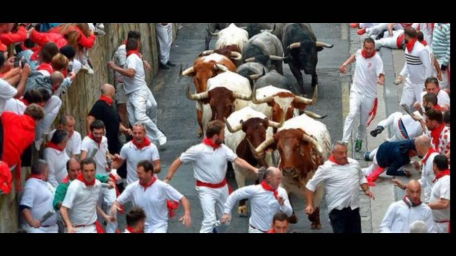 España cancela el festival de San Fermín en Pamplona