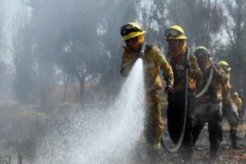 En la CDMX se disminuyó el 48.69% de área afectada por incendios forestales durante 2020