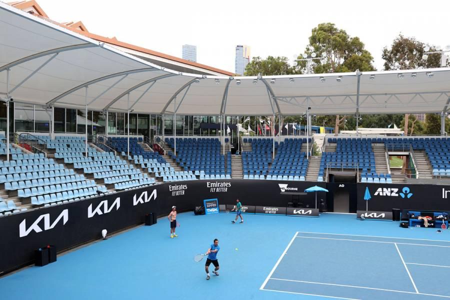 Todos los tenistas que jugarán Abierto de Australia dan negativo a COVID-19