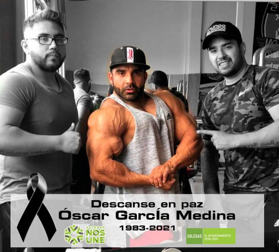Ayuntamiento de Soledad lamenta el fallecimiento del deportista Oscar García Medina