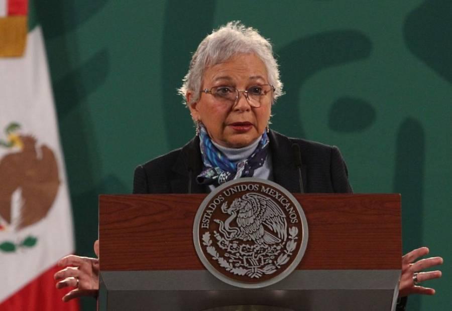Olga Sánchez Cordero descarta buscar Presidencia en 2024