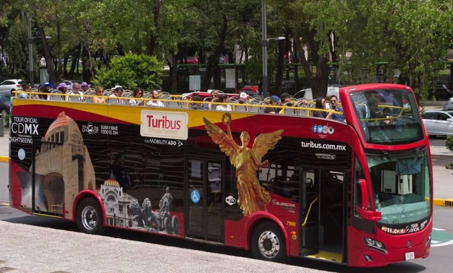 Turibús también reanudará su servicio en CDMX a partir del lunes