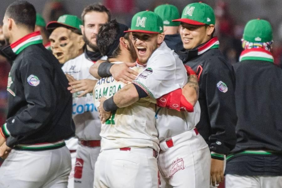 México vence a Venezuela en la Serie del Caribe y avanza a semifinales