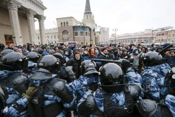 Rusia expulsa a diplomáticos por protestas sobre Navalny