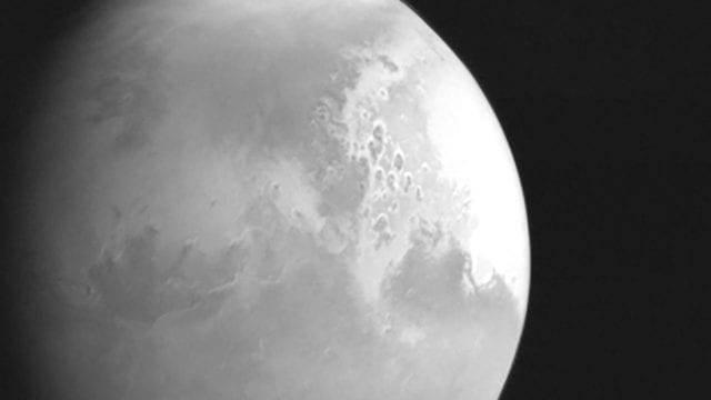 China publica primera imagen de la sonda espacial