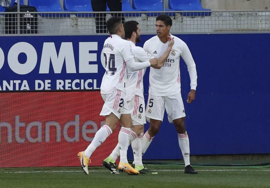 Real Madrid regresa a la senda del triunfo tras vencer al Huesca