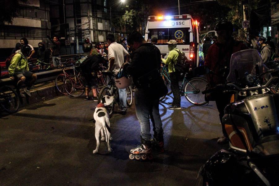 Sheinbaum pide a la SSC, sanciones inmediatas contra policías que agredieron a ciclistas