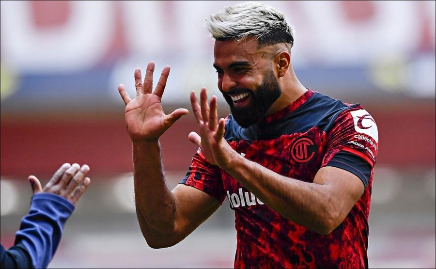 Toluca golea a Mazatlán y es líder del torneo Guard1anes