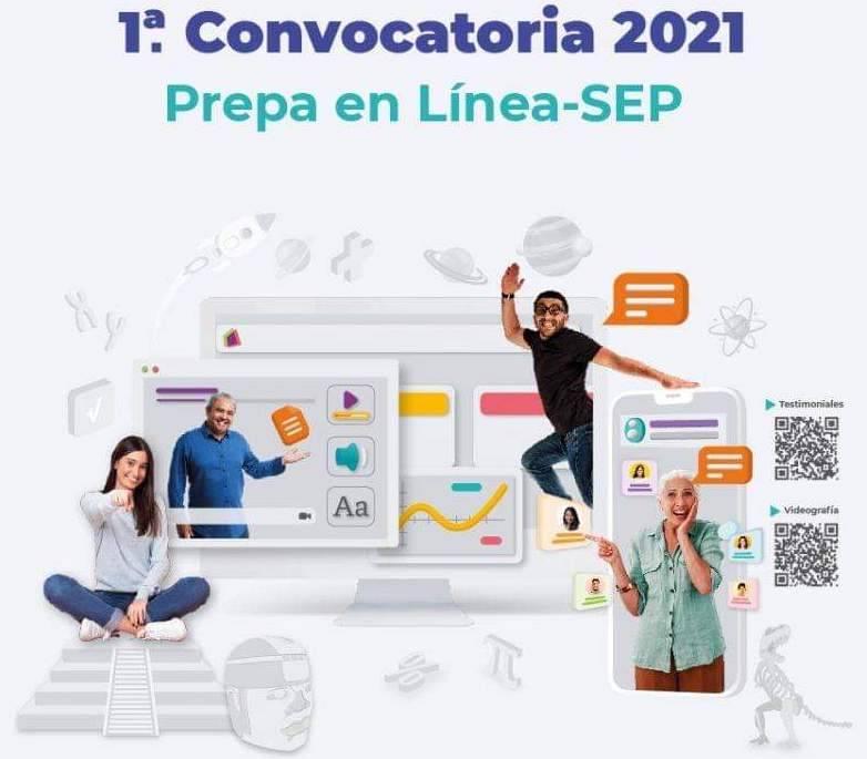 Se registran más de 124 mil aspirantes en primer convocatoria de Prepa en Línea-SEP