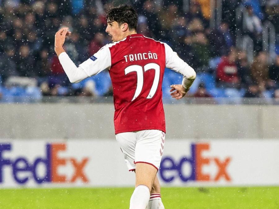 Francisco Trincao, anotó su primer gol y le dio la victoria al Barcelona