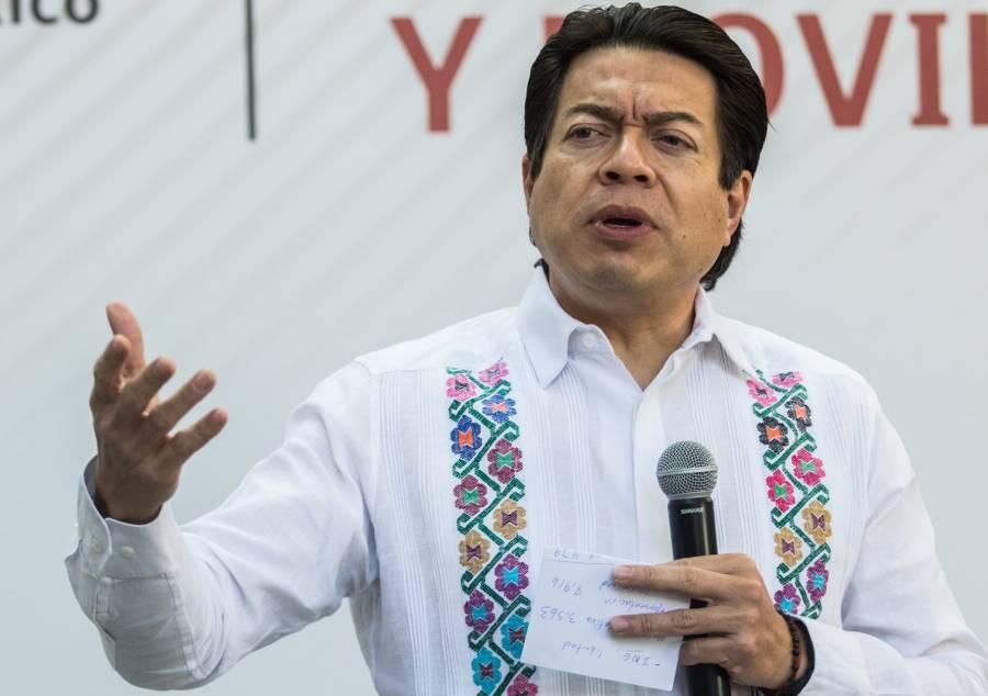 Mario Delgado pide a morenistas respetar elección de precandidatos a gubernaturas