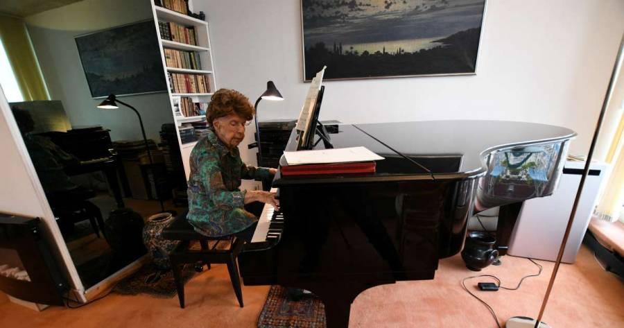 Pianista francesa de 106 años lanzará sexto álbum