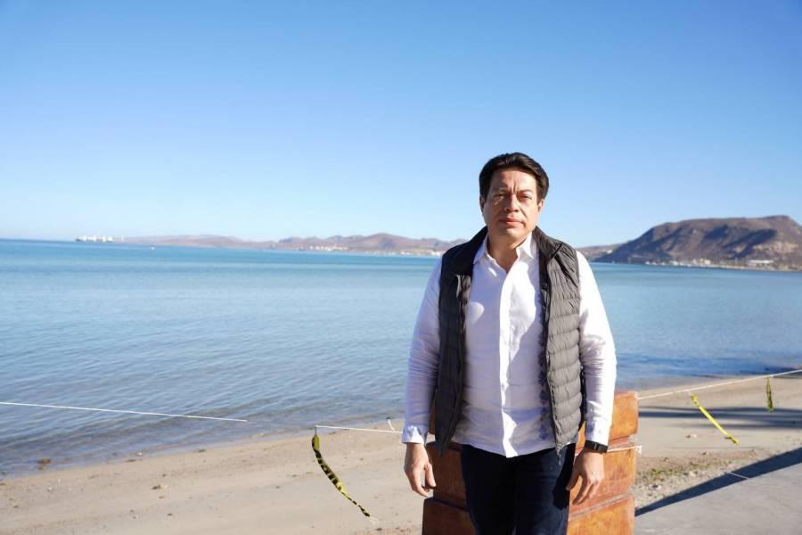 Mario Delgado asegura total transparencia en las encuestas