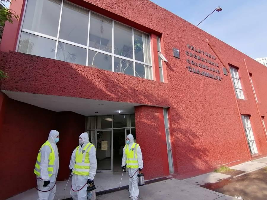 En Cuajimalpa, habilitan crematorio servicio 24 horas