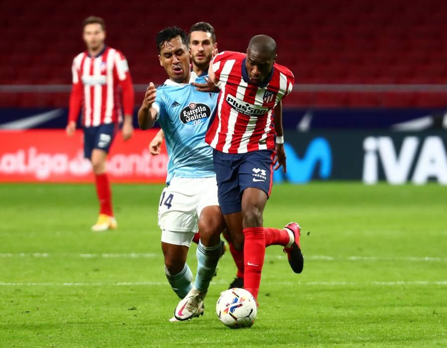 Celta de Vigo pone fin a la racha de triunfos del Atlético de Madrid en LaLiga