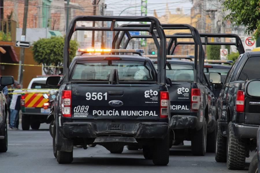 Detienen en Celaya a cuatro presuntos integrantes de una célula delictiva