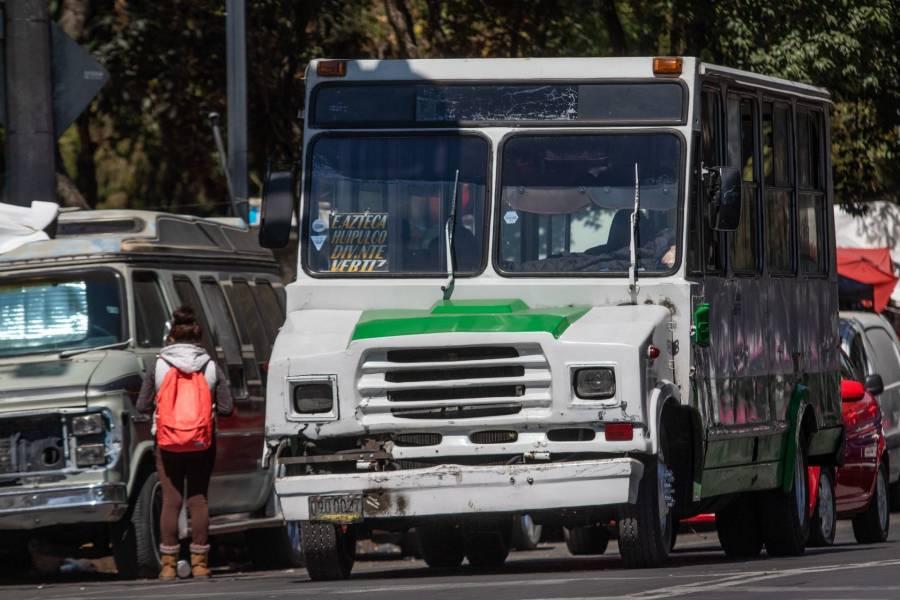 En CDMX, transportistas piden incrementar el pasaje, amagan con no dar servicio
