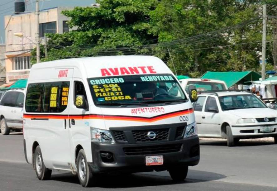 En Quintana Roo, suspenden unidades de transporte público por no respetar protocolos sanitarios, reporta Cofepris