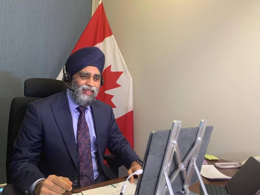 Sostienen conversación telefónica titulares de Semar y Sedena con ministro de Defensa de Canadá
