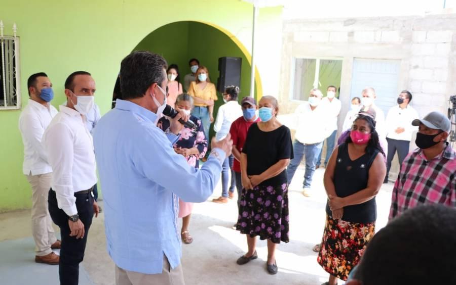 Concluyen en Chiapas más de 15 mil viviendas del Programa Nacional de Reconstrucción