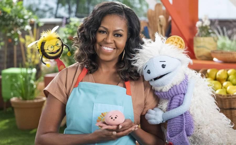 """""""Gofre + Mochi"""", la nueva serie de cocina con Michelle Obama en Netflix"""