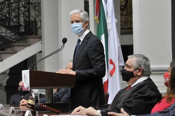 Construye Edomex una justicia más accesible: gobernador Del Mazo