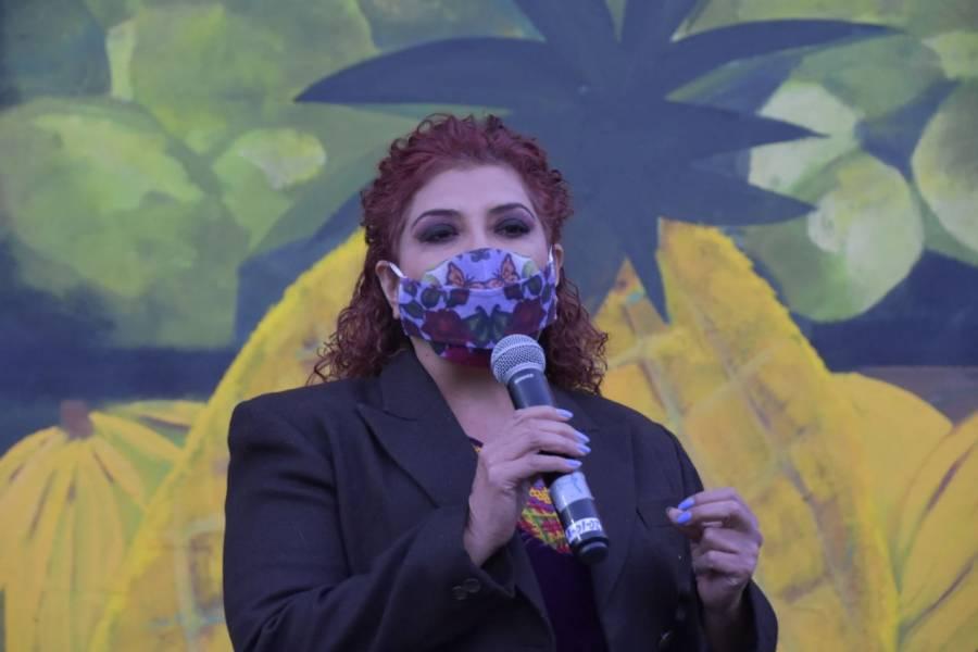 Baja a la mitad número de incendios en Cerro de la Estrella: Clara Brugada