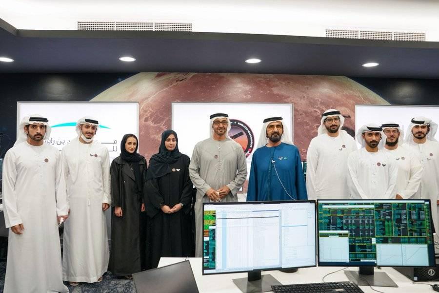 Llega a Marte primera sonda espacial de Emiratos Árabes