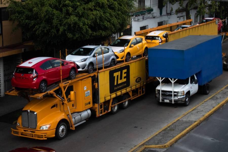 Producción, exportación y ventas de autos en México, en caída libre
