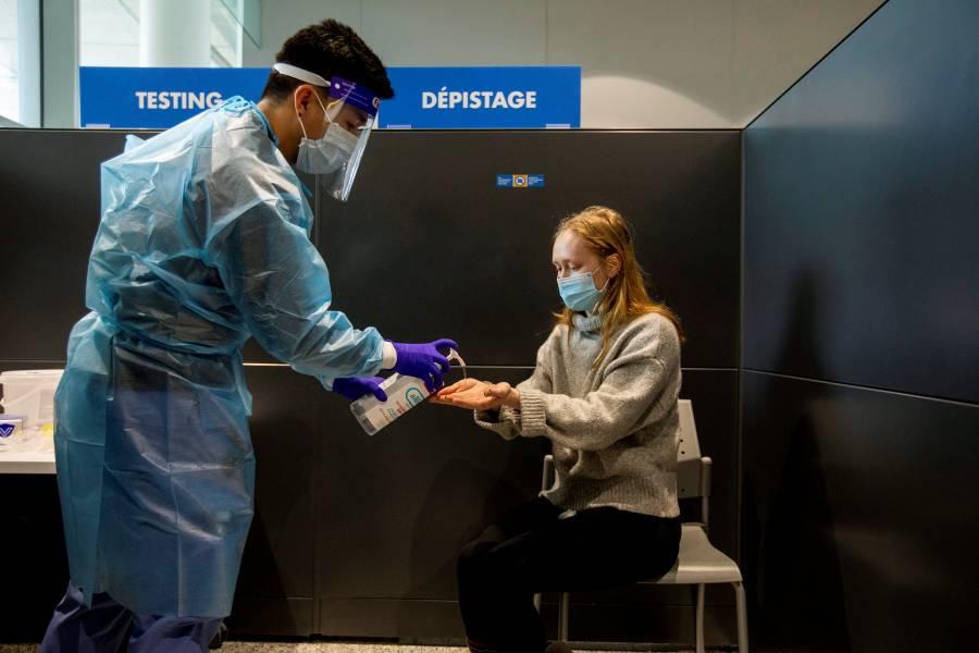 Canadá exigirá pruebas negativas de COVID-19 a visitantes