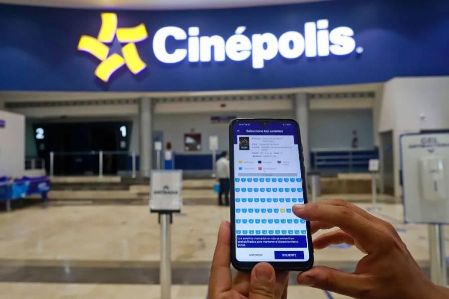 Cinemex y Cinépolis enfrentan crisis por pandemia; cierran 11 complejos