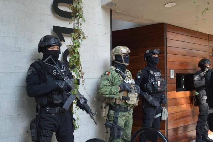 Policía CDMX y Sedena aseguran 60 kg de cocaína en la Narvarte