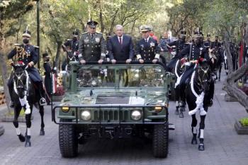 Encabeza AMLO conmemoración de Marcha de la Lealtad