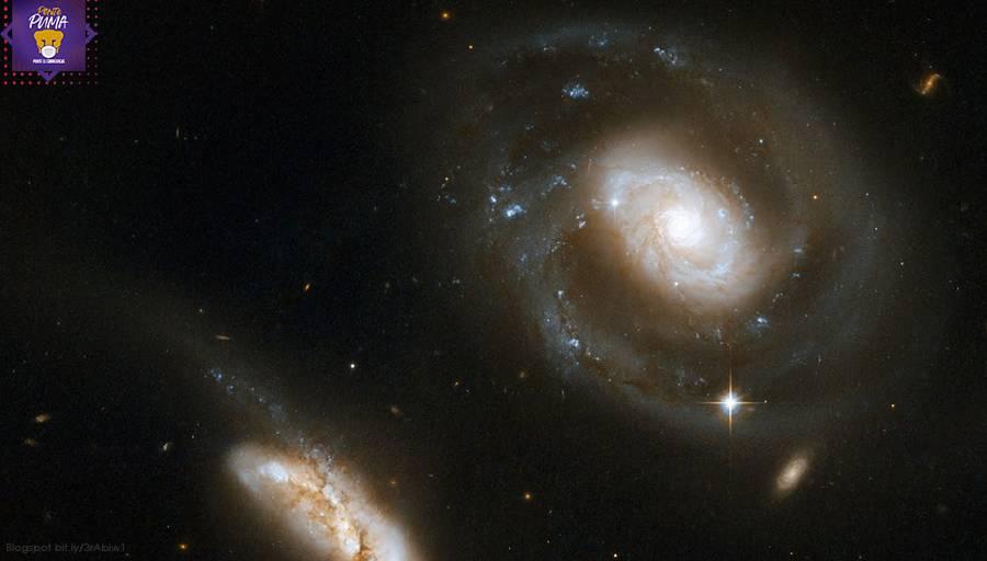 Visualizan con luz óptica gas ionizado en galaxia