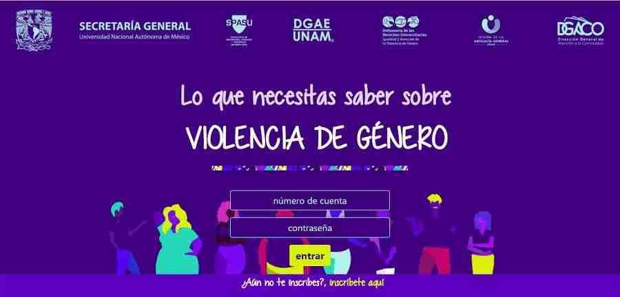Sensibiliza la UNAM a sus estudiantes en violencia de género