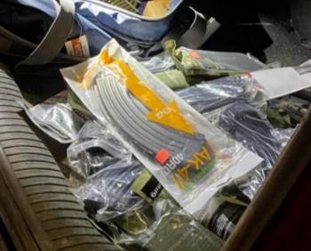 Autoridades aseguran armas y cartuchos en la frontera norte