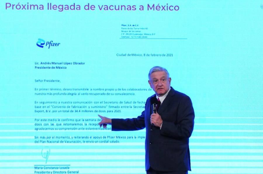 LLEGARÁ UN MILLÓN DE VACUNAS EL DOMINGO