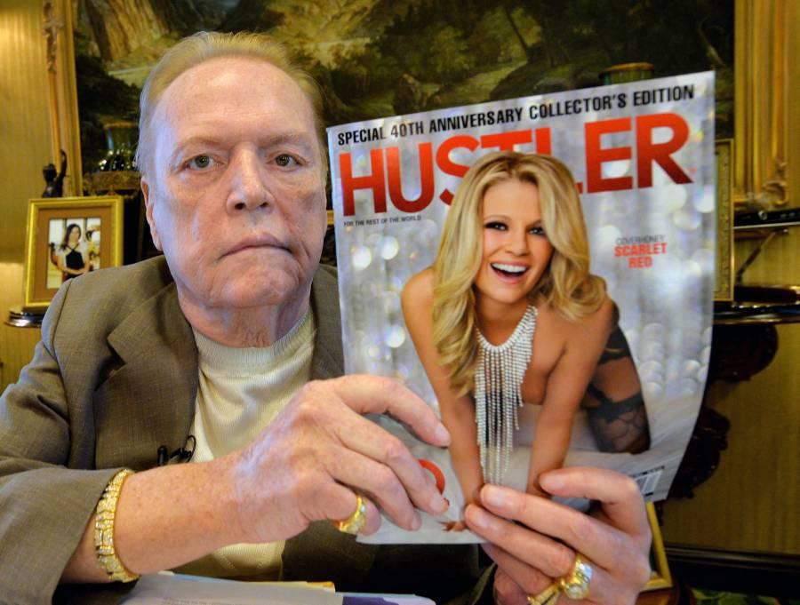 Larry Flynt editor de porno muere a los 78 años