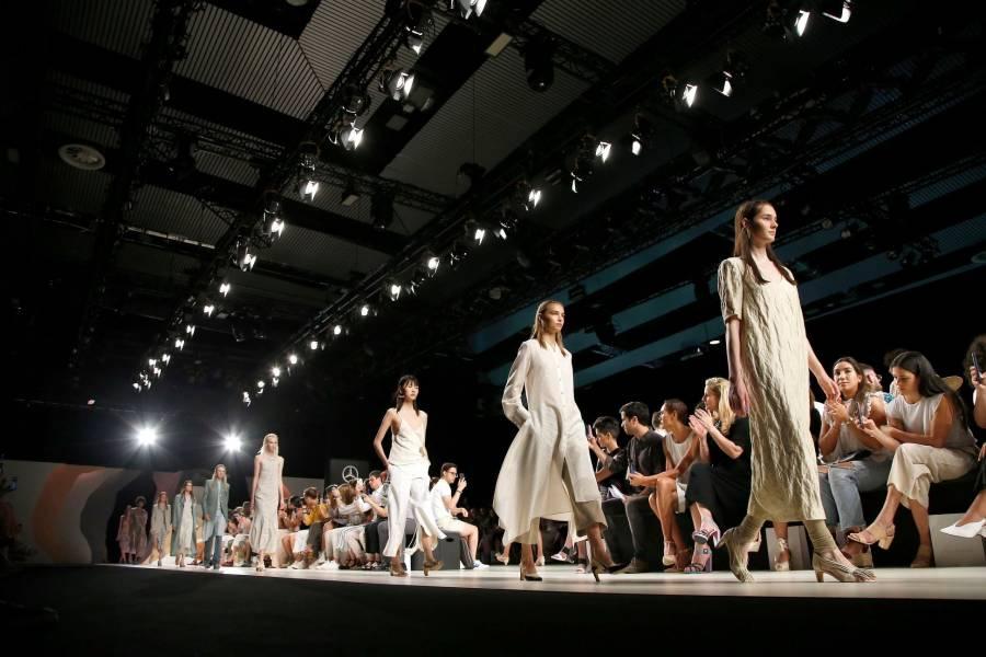 Primera fila virtual en inicio de Semana de la Moda de Nueva York