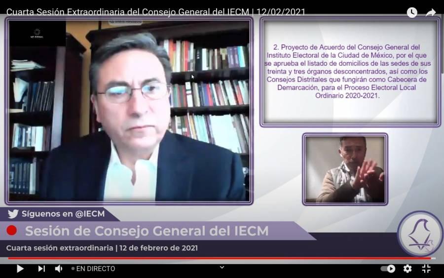 IECM busca retomar las labores presenciales, ante el Proceso Electoral