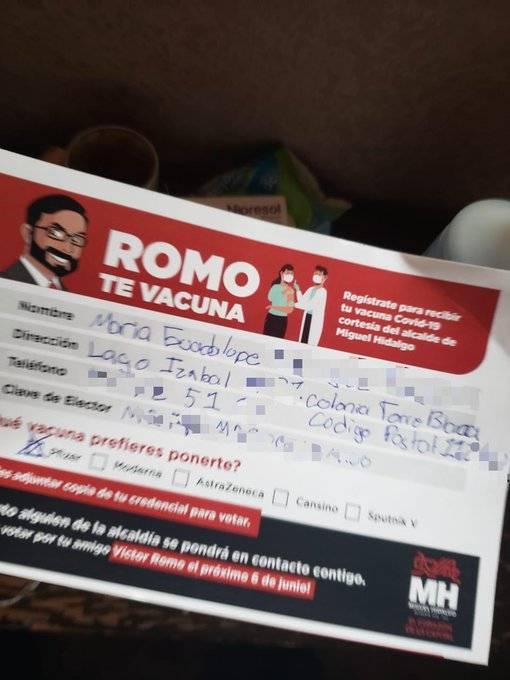 IECM investiga la propaganda sobre vacunas Covid en la alcaldía Miguel Hidalgo