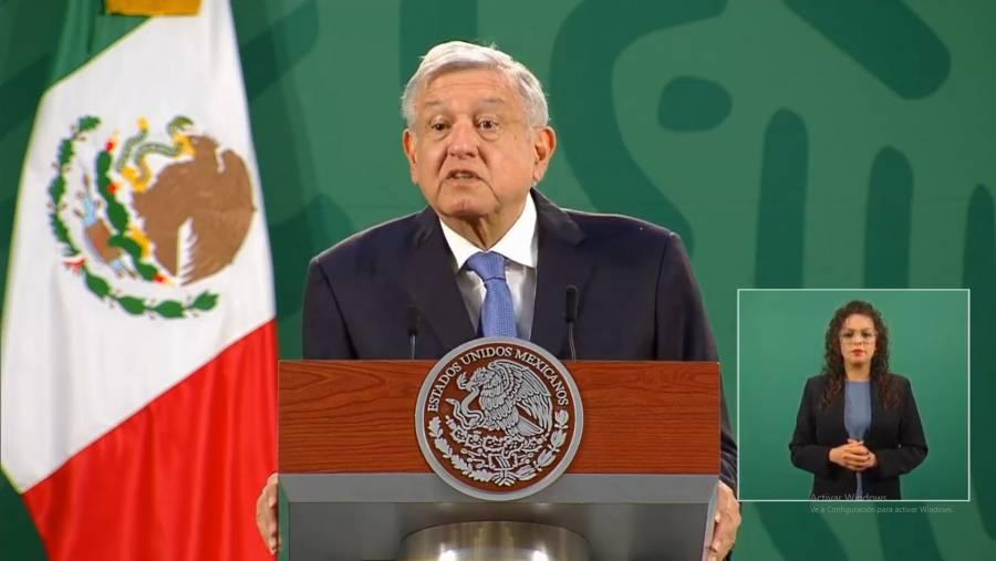 López Obrador celebra cancelación de construcción del muro fronterizo con EEUU