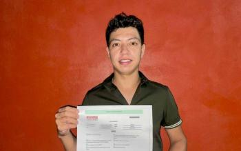 Joven con VIH se postula para diputado