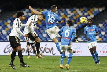 Napoli vence a la Juventus por la mínima diferencia
