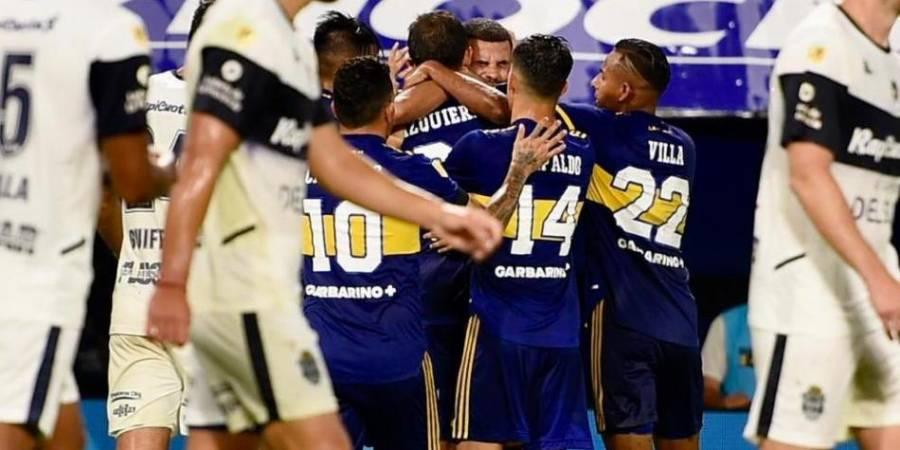 Boca Juniors empata ante el Gimnasia y Esgrima La Plata